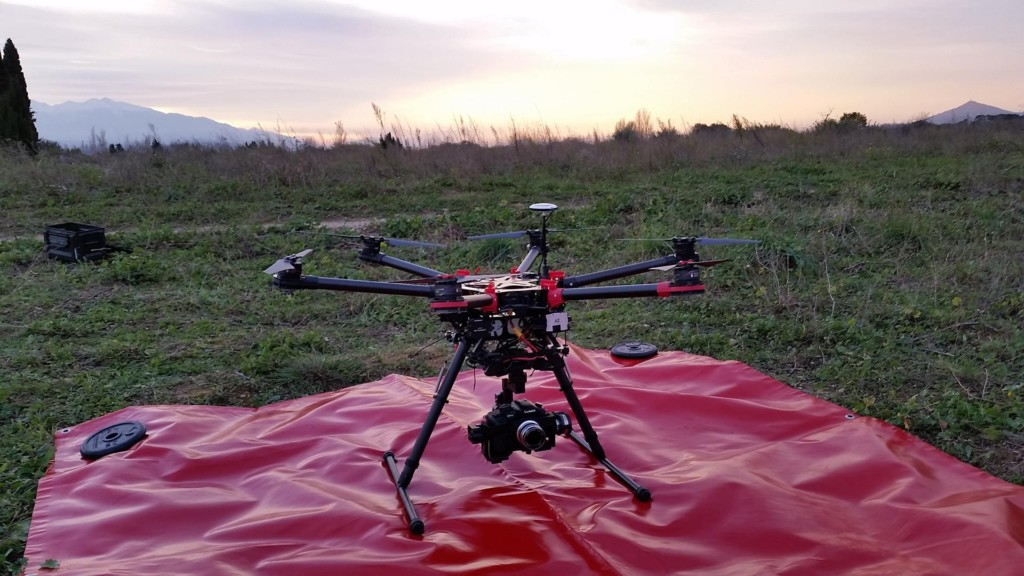 HEXA S900 FLYING EYE NO DJI HOMOLOGUE DGAC