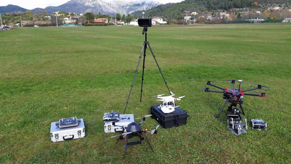FLOTTE DRONES ALPHA DRONE 66 CINEMA TELE TELEVISION GH4 4K