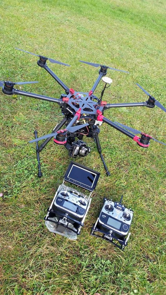 PACK HEXA S900 DJI FLYINGEYE GH4 4K PANASONIC LUMIX