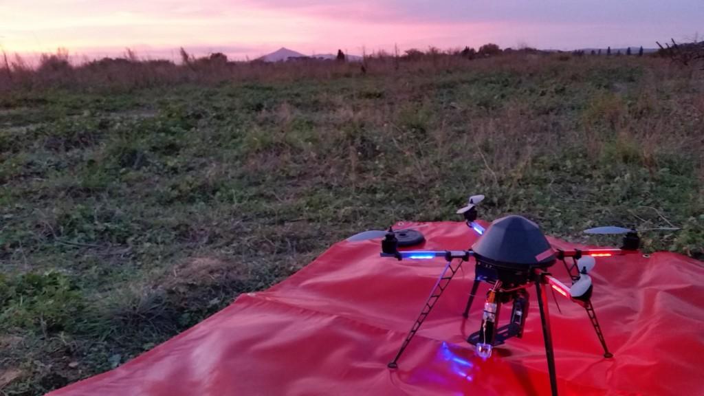 QUAD ALPHA DRONE 66 COUCHER SOLEIL