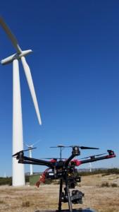 notre drone FLYING EYE S900 HEXACOPTER GH4 PANASONIC TOP